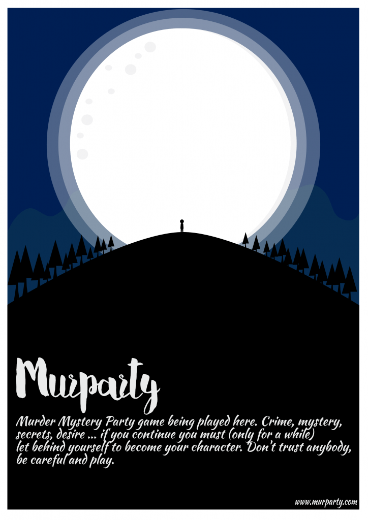 Póster murparty